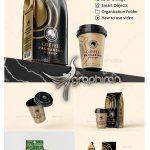 دانلود طرح های موکاپ بسته بندی قهوه Coffee Packaging Mockup