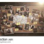 دانلود پروژه افترافکت تخته ارتباطات با نخ VideoHive Connection