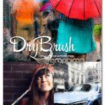 اکشن فتوشاپ افکت نقاشی با براش خشک Dry Brush Photoshop Action