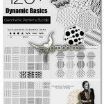 دانلود 120 پترن هندسی PNG و وکتور Dynamic Basics: Geometric Patterns