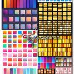 دانلود مجموعه عظیم وکتور گرادینت های طیف رنگی Vector Gradients Pack