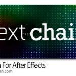 دانلود Text Chain v1.1 اسکریپت افترافکت لینک کردن متن ها و ویرایش آنها