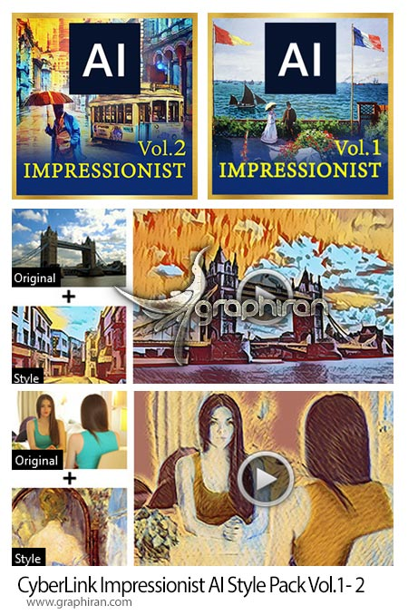 CyberLink Impressionist AI Style Pack