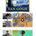 دانلود پک افکت های نقاشی ونگوگ برای افترافکت و پریمیر CyberLink Van Gogh AI Style Pack 1.0.0.1030