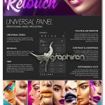 دانلود پلاگین فتوشاپ پنل روتوش عکس Retouch Panel for Photoshop