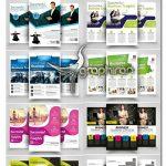 دانلود 10 طرح لایه باز تراکت تبلیغاتی متنوع Multi Use Business Flyer Bundle
