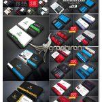 دانلود پک 47 طرح آماده کارت ویزیت متنوع PSD لایه باز Business Card Bundle
