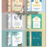 دانلود 10 طرح تراکت ماه رمضان وکتور لایه باز Ramadan Flyer Bundle