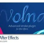 دانلود Volna v1.3.2 پلاگین افترافکت طراحی استایل برای خطوط