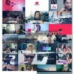 دانلود پروژه افترافکت پک ساخت تیزر کانال یوتیوب Youtube Creators Pack