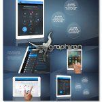 دانلود پروژه افترافکت پرزنتیشن روی تبلت Elegant Tablet Presentation Pack
