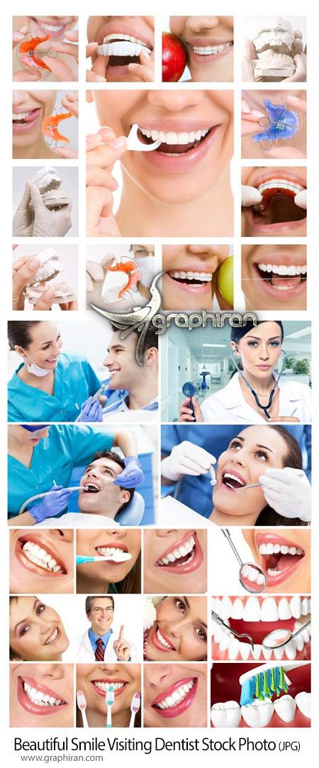 دانلود تصاویر استوک دندانپزشکی و لبخند