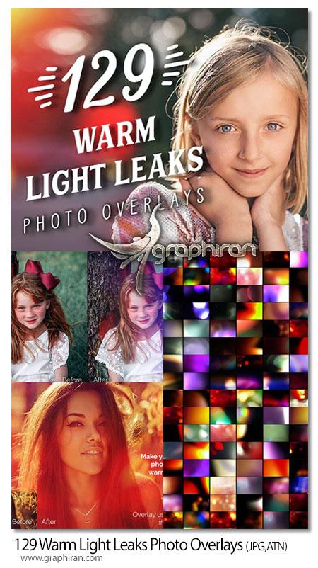 دانلود 129 تصویر پوششی افکت نورهای گرم