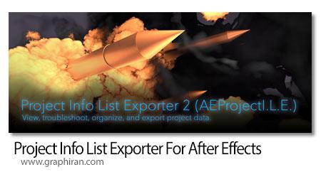 دانلود Project Info List Exporter
