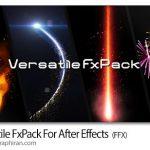 دانلود Versatile FxPack v1.4 اسکریپت افترافکت ساخت جلوه های ویژه