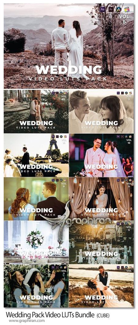 دانلود پک LUT فیلم عروسی افترافکت پریمیر داوینچی