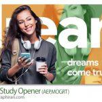دانلود پروژه پریمیر و افترافکت اوپنر آموزشی و تحصیلی Clean Study Opener