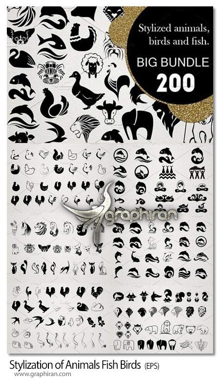 دانلود مجموعه طرح های لیزر وکتور حیوانات