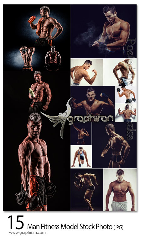 دانلود مجموعه عکس استوک مرد بدنساز